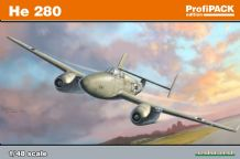 Eduard 1/48 Model Kit 8068  Heinkel He-280 (PROFIPACK)